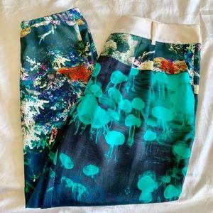 Wayne silk Reef pants